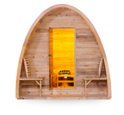 Hut Sauna - Side View